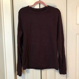 Maroon Pullover size medium hardly worn